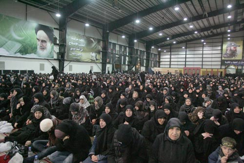 40th of Imam Hussain (pbuh) in Sayyed Shuhada Complex in Beirut