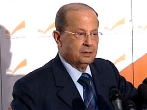 Aoun Lashes Out at Feltman, Says Ship Carrying Weapons Danger on Lebanon, Syria
