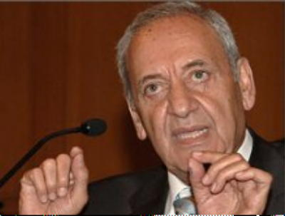 Berri Urges Speed in Formation of National Salvation Government