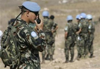 UN peace keeping forces