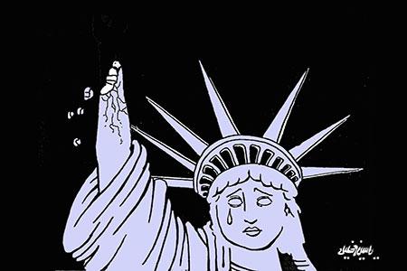 Broken Statue of Liberty