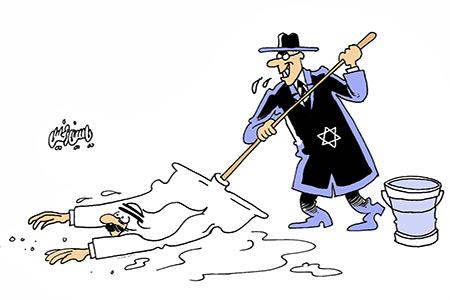 """Israel"" moppin Arabs"