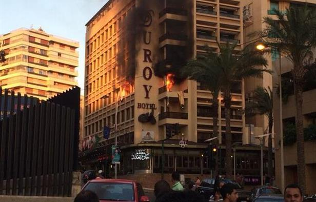 Lebanon's Security Forces Thwart Third Attack in a Week at Beirut Hotel, Suicide Bomber Blows Himself Up