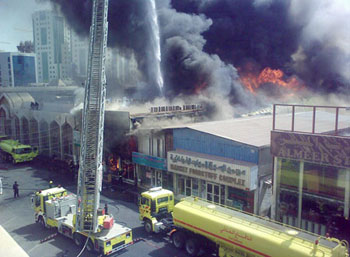 Qatari Opposition: Responsible for Mall Fire, More Operations until Victory