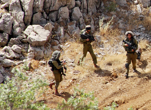 """Israeli"" Troops Infiltrate Lebanese Territories, Breaches Airspace"