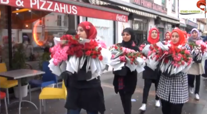 Youth Organization Protests against Anti-Islam Film: Roses Not Violence!