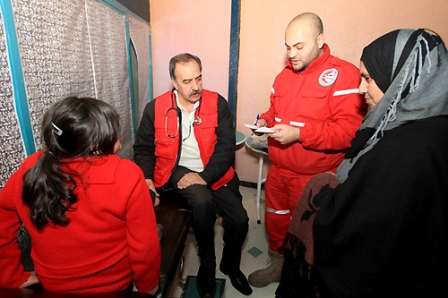 """""""Free Syrian Army"""" Threatens Red Crescent"""