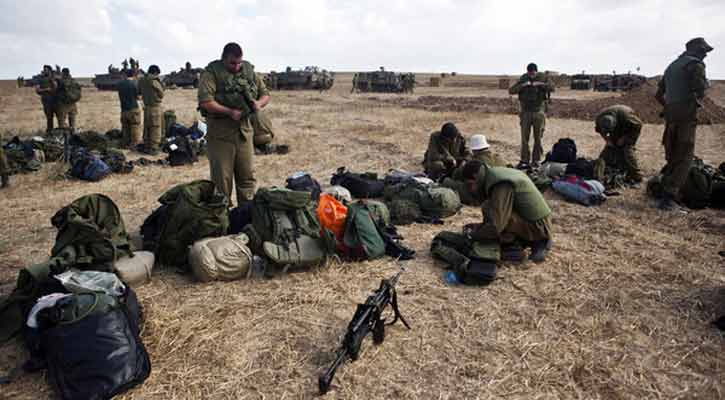 More than 50 'Israeli' Reservists Refuse to Serve in Gaza