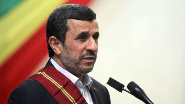 Ahmadinejad: Era of Atomic Bomb Over
