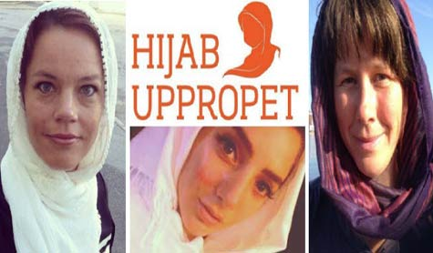 Swedes Wear Hijab to Support Muslim Woman
