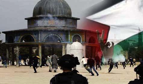 Dozens of 'Israeli' Settlers Storm Al-Aqsa