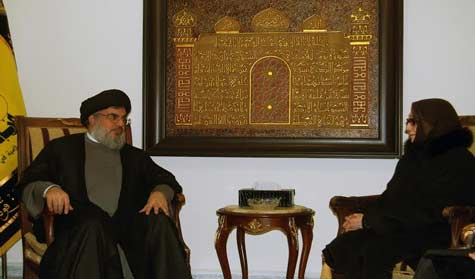 Sayyed Nasrallah meets Bouherid