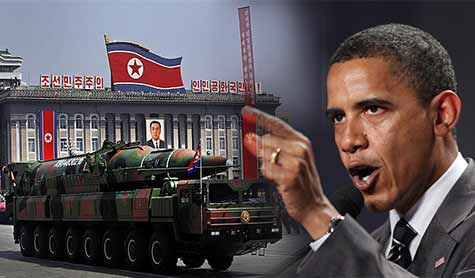 South Fires at Northern Vessels as Obama Warns of Pyongyang Nuclear Test