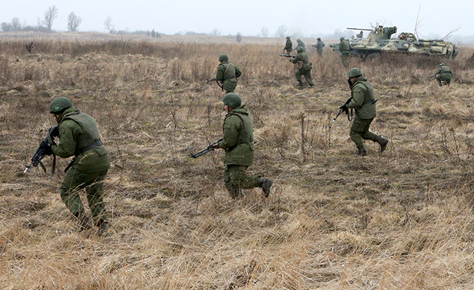 Russia to Launch Military Drills near Border in Response to Ukraine Op