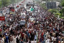 Pakistan Anti-PM Protesters Storm State TV