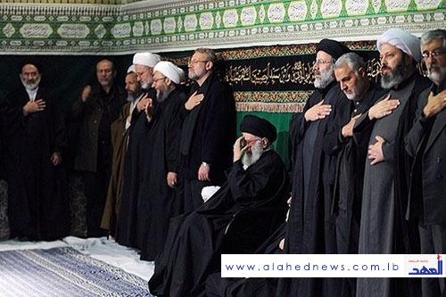 Imam Khamenei Attends Mourning Ceremonies for Ashoura in Tehran