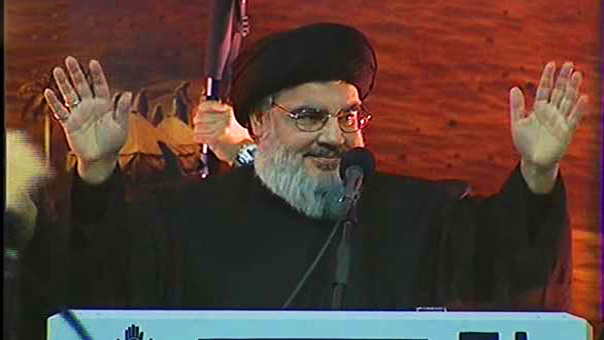 Sayyed Nasrallah Appears in Person from Sayyed Shuhada Complex: Our Battle is with Takfiris, 'Israel'