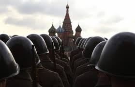 Russian forces infront of kremlin