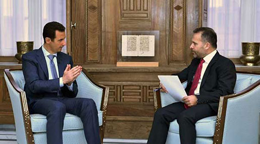 Al-Assad: Wahhabism Foundation for Every Terrorism