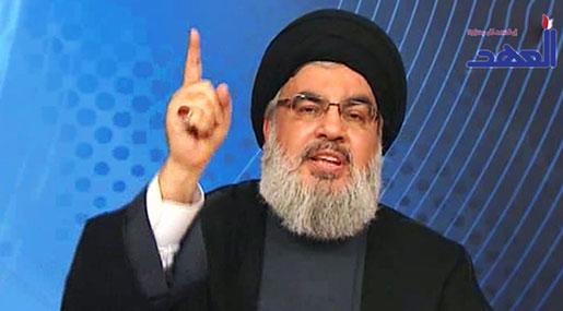 Image result for nasrallah finger