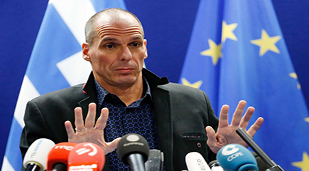 Yanis Varoufakis, Greece's former finance minister