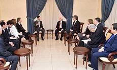 Al-Assad Accuses Erdogan of Supporting Takfiris