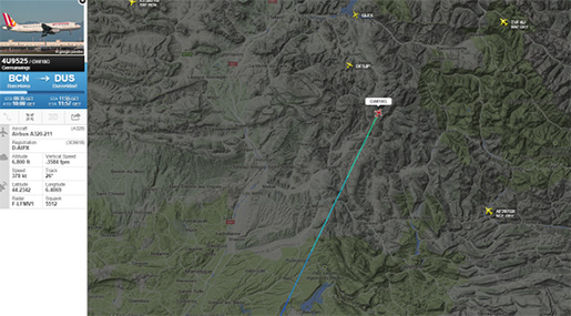 Plane Crashed in French Alps: 150 People on Board