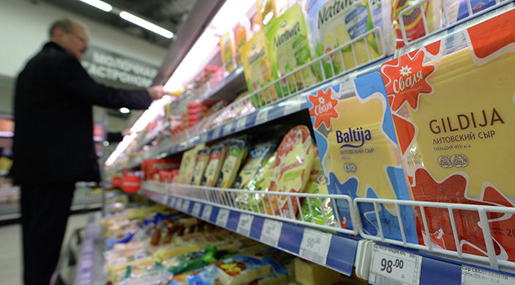 Russia Reinforcing Control over Turkish Food Imports