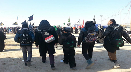 Walk to Arbaeen from all over the Globe
