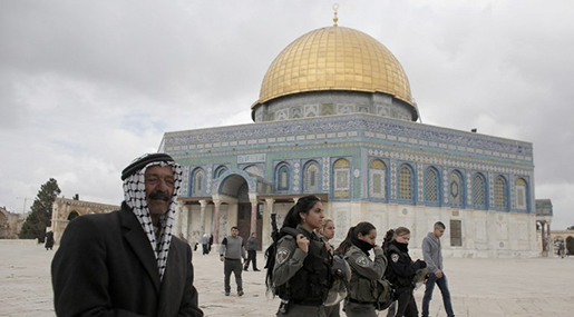 """Israeli"" Soldier Wounded in New Stabbing, Age Restrictions for al-Aqsa Worshippers Lifted"