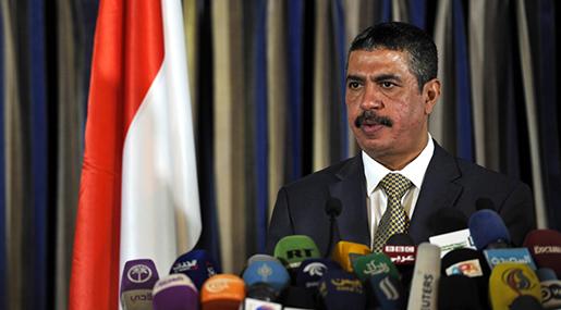 Abd Rabu Mansours Hadi Prime Minister Khaled Bahah