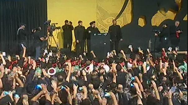 Sayyed Nasrallah at Sayyed Shuhadaa Complex