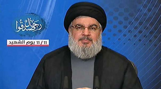Sayyed Nasrallah on Martyrs' Day: Ready to Confront Threats, National Comprehensive Settlement Needed