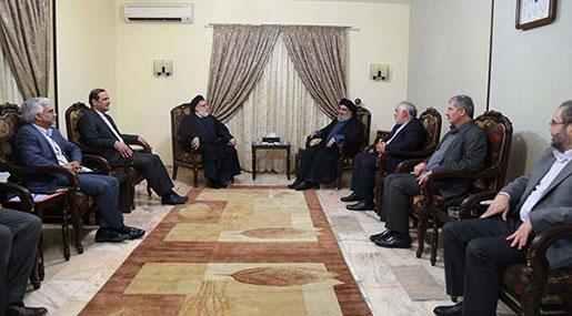 Sayyed Nasrallah Receives Deputy of Iranian President Sayyed Shahidi