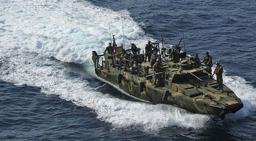 Two US Navy Boats in Iran's Custody after Entering Country's Waters