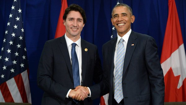 White House Hosts Canada's New PM