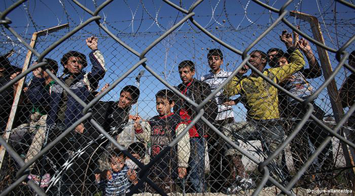 "UN Slams Migrant ""Detention Facilities"" in Greece"