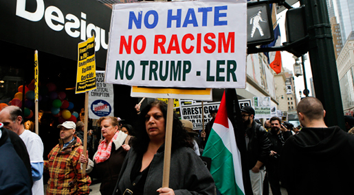 NY Peace Activists Protest against US Wars, Trump