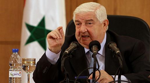 Syrian FM Walid al-Moallem