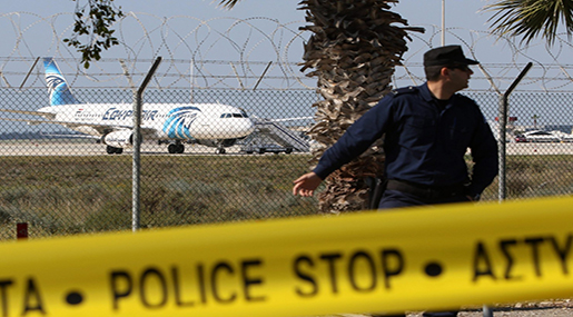 EgyptAir Flight MS181 Passenger Plane Hijacked, Reports Say due to Personal Dispute