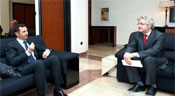 President al-Assad to Frankfurter Allgemeine Zeitung Daily: With our Determination, Strength and Solidarity, We Can Rebu