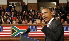 Obama Urges Africa to Follow Spirit of Nelson Mandela, Pledges $7 Billion for Electricity