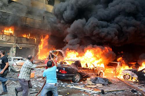 Photo Report: Deadly Terrorist Blast Rocks Beirut's Dahiyeh