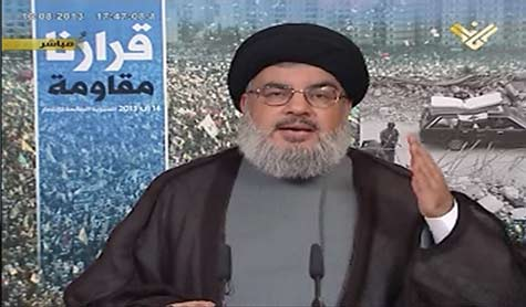 Sayyed Nasrallah from Aita al-Shaab:Resistance stronger than ever,has equipment and fighters