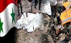 Mass Grave in Lattakia's Countryside: New Trace of Terrorism