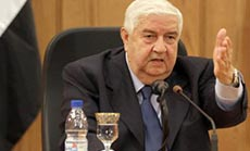Al-Moallem: Syria Ready To Sign Chemical Weapons Convention
