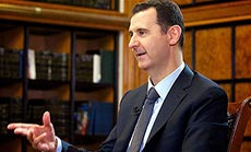 Al- Assad: US must Stop Arming Militants for Russian Plan to Work