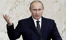 Putin: World must Welcome Syria Step on Chemical Weapons