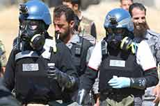 """Team to Dismantle Chemical Weapons in Syria Includes 7 """"Israelis"""": Scandal"""