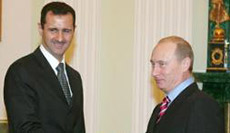 Putin Holds First Talks with Assad in Two Years